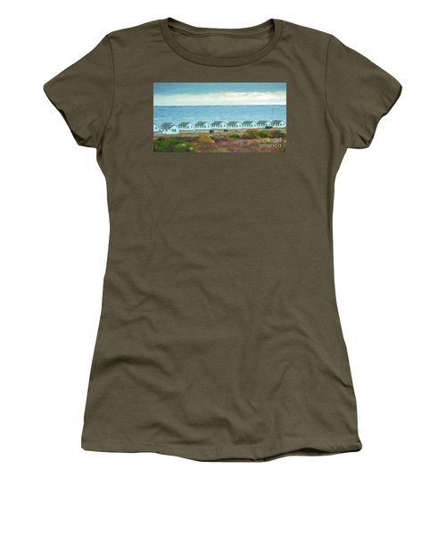 Closed For The Season Women's T-Shirt (Athletic Fit)