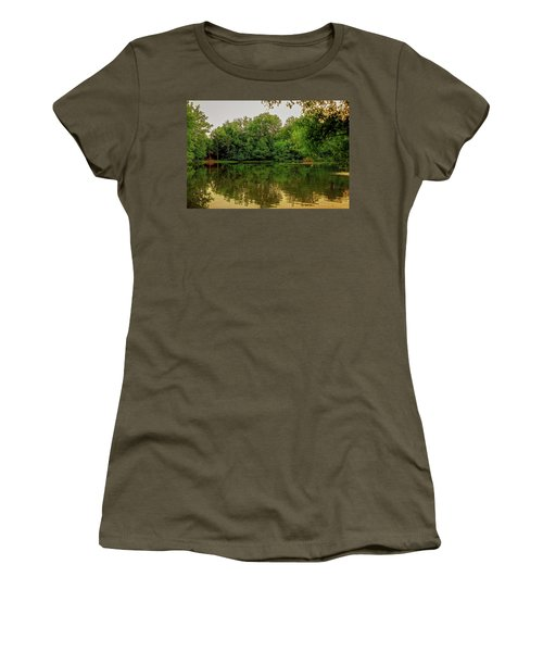 Closter Nature Center Women's T-Shirt (Athletic Fit)