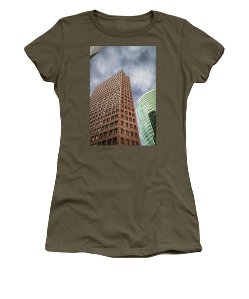 Women's T-Shirt (Athletic Fit) featuring the photograph Cloudbase by Geoff Smith