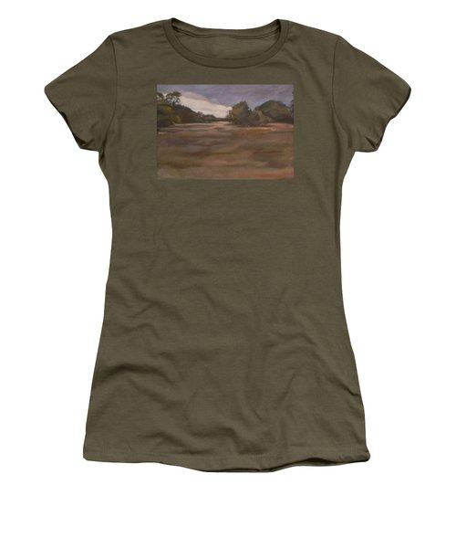 Clouds And Fields Women's T-Shirt (Athletic Fit)
