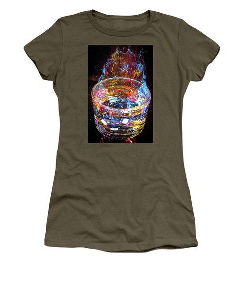 Cocktail Chip Women's T-Shirt (Junior Cut) by Mark Dunton