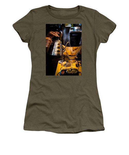 Coffee First Women's T-Shirt