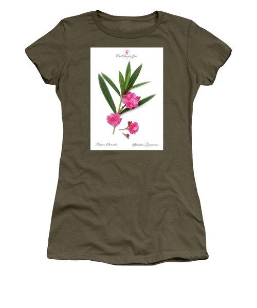 Cog  Nerium Oleander Splendens Giganteum Women's T-Shirt