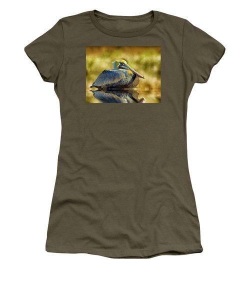 Cold Brown Pelican Women's T-Shirt