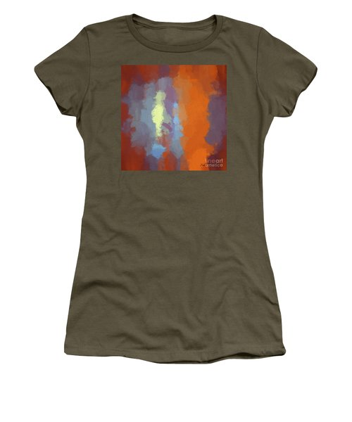 Color Abstraction Xxiii Sq Women's T-Shirt