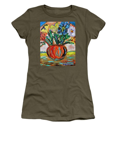Color Everywhere Women's T-Shirt (Athletic Fit)