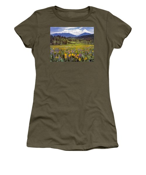Color Of Spring Women's T-Shirt (Athletic Fit)