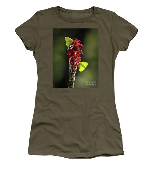 Women's T-Shirt (Junior Cut) featuring the photograph Color On Citico by Douglas Stucky