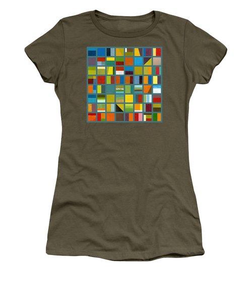 Color Study Collage 67 Women's T-Shirt