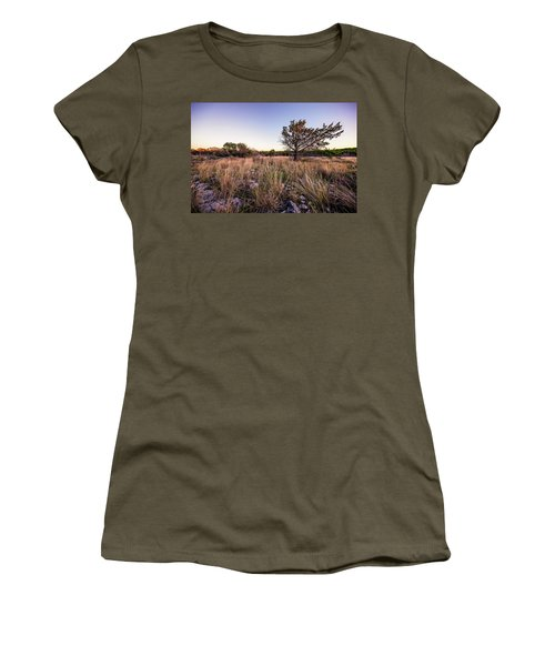 Colorado Bend State Park Gorman Falls Trail #2 Women's T-Shirt (Junior Cut) by Micah Goff
