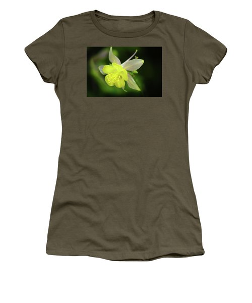 Women's T-Shirt (Junior Cut) featuring the photograph Colorado Columbine by Marie Leslie