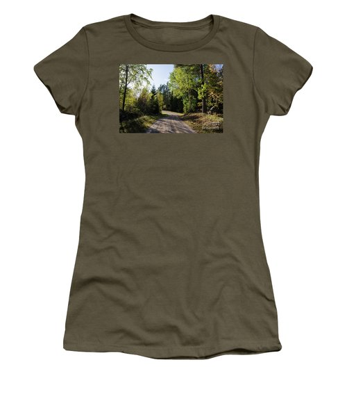 Women's T-Shirt (Athletic Fit) featuring the photograph Colorful Adventure by Kennerth and Birgitta Kullman