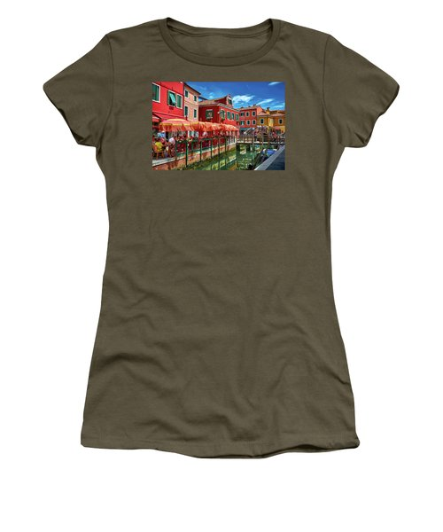 Colorful Day In Burano Women's T-Shirt