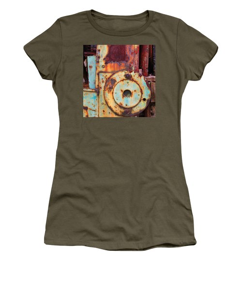 Colorful Industrial Plates Women's T-Shirt (Athletic Fit)