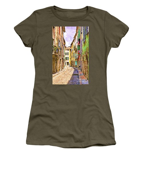 Colors Of Provence, France Women's T-Shirt (Athletic Fit)
