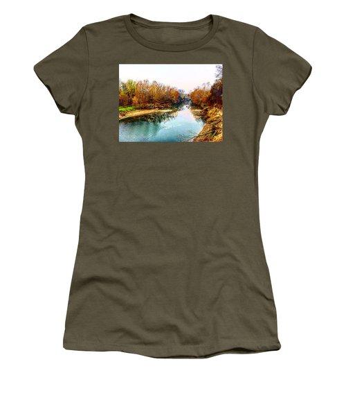 Colours Along Mill Creek Women's T-Shirt