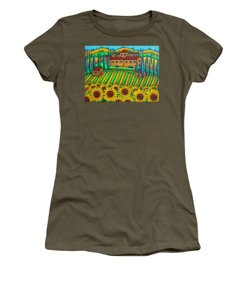 Colours Of Tuscany Women's T-Shirt