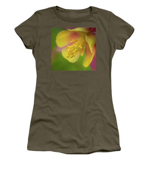 Columbine Women's T-Shirt (Junior Cut) by Greg Nyquist
