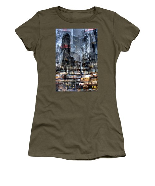 Columbus Circle Collage 1 Women's T-Shirt