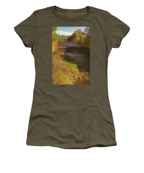 Comstock Covered Bridge Women's T-Shirt