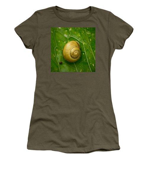 Women's T-Shirt (Junior Cut) featuring the photograph Conch by Jouko Lehto