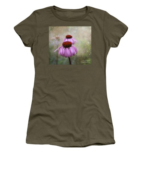 Coneflower Dream Women's T-Shirt (Athletic Fit)