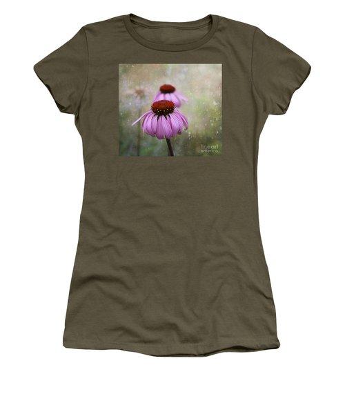 Coneflower Dream Women's T-Shirt (Junior Cut) by Nina Silver