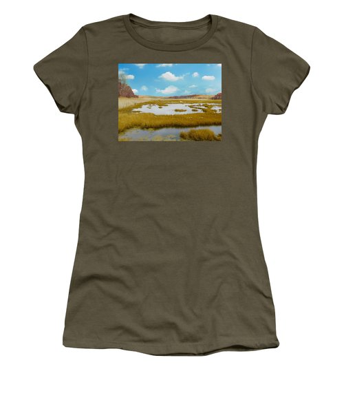 Connecticut Salt Water Marsh Women's T-Shirt