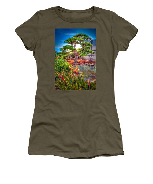 Women's T-Shirt (Junior Cut) featuring the photograph Consciousness Waves And Then Matters by TC Morgan