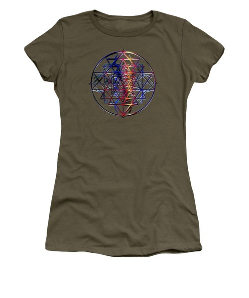 Container Of Essence Women's T-Shirt (Junior Cut) by Iowan Stone-Flowers