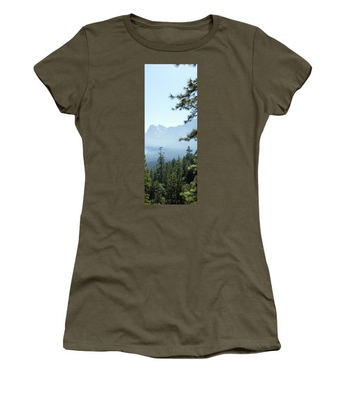 3 Of 4 Controlled Burn Of Yosemite Section Women's T-Shirt