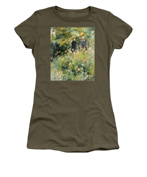 Conversation In A Rose Garden Women's T-Shirt
