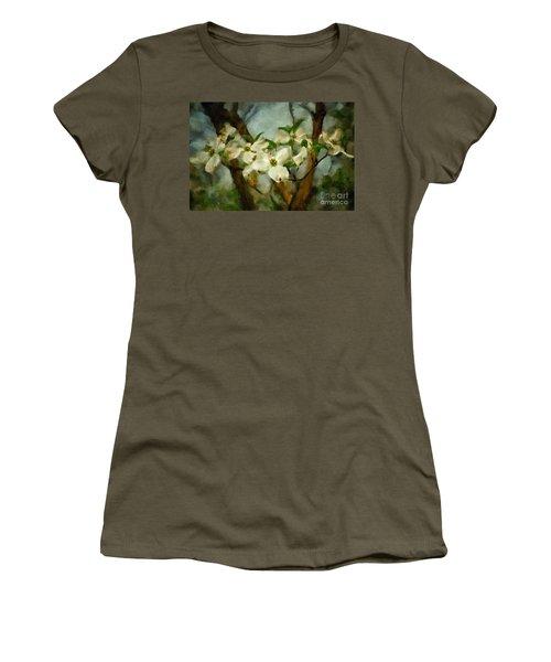 Cool Breeze Painterly Women's T-Shirt
