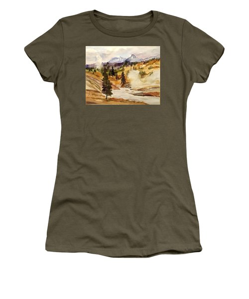 Cool Morning Women's T-Shirt (Athletic Fit)