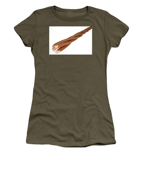 Copper Wire Strands Women's T-Shirt