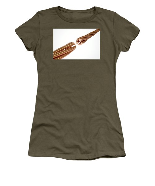 Copper Wire Strands Disconnected Women's T-Shirt