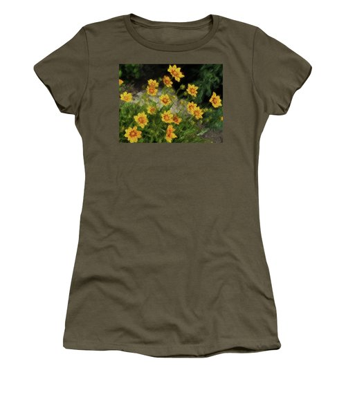 Coreopsis Tickseed Women's T-Shirt (Athletic Fit)