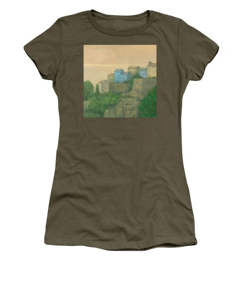 Corsican Hill Top Village Women's T-Shirt