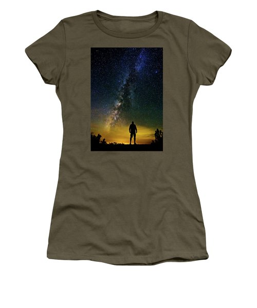 Cosmic Contemplation Women's T-Shirt