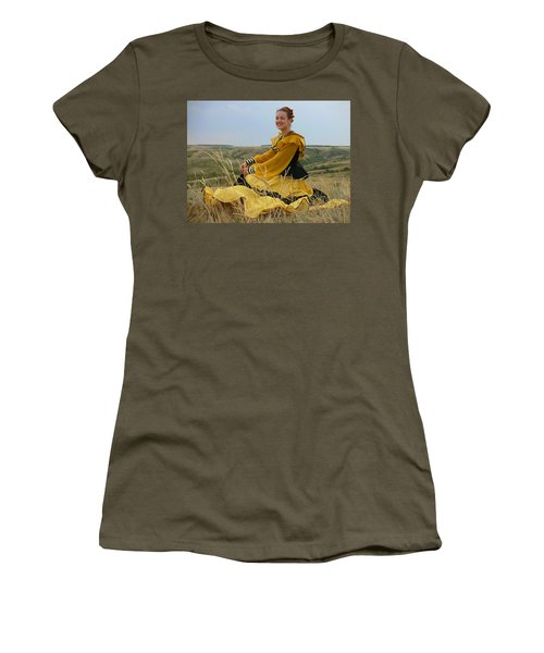 Cossack Young Lady Women's T-Shirt