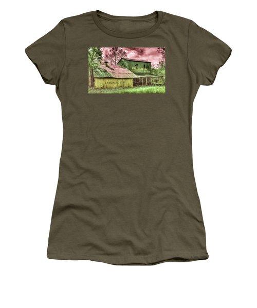 Cotton Gin Franklin County Arkansas 1898 Women's T-Shirt