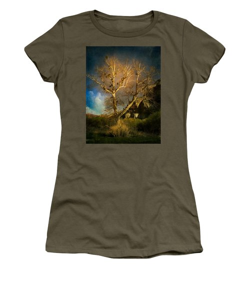 Cottonwood Tree Women's T-Shirt