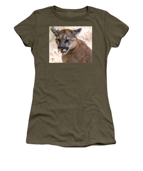 Cougar Portrait Women's T-Shirt