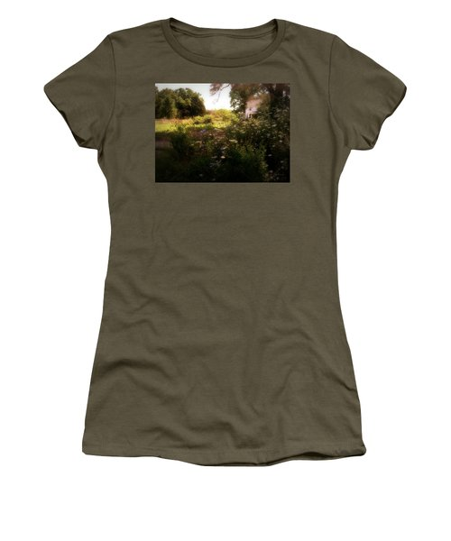 Country House Women's T-Shirt (Junior Cut) by Cynthia Lassiter