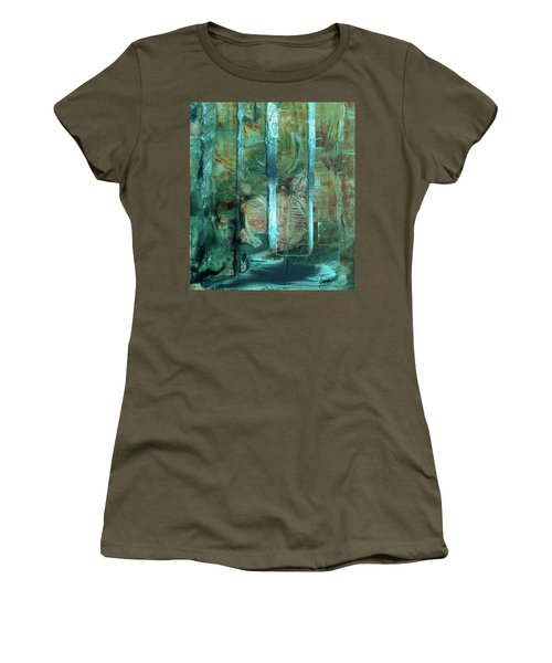 Country Roads - Abstract Landscape Painting Women's T-Shirt