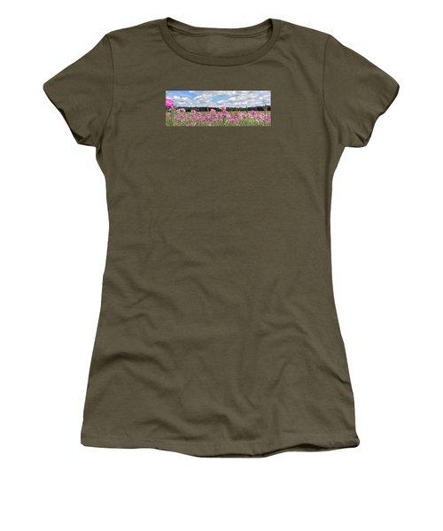 Country Roads Women's T-Shirt (Junior Cut) by LeeAnn Kendall