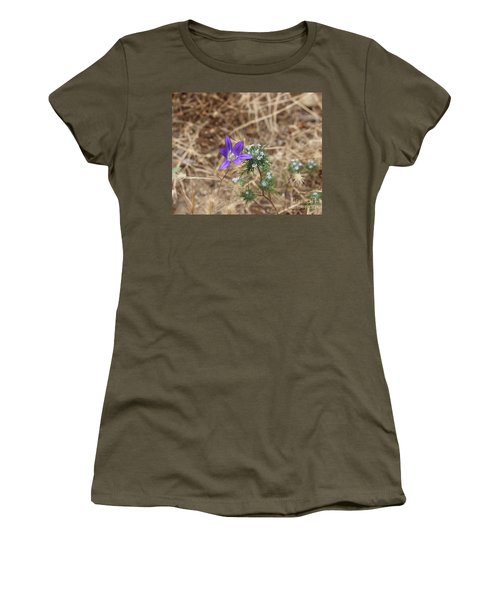 Women's T-Shirt (Athletic Fit) featuring the photograph Cousins by Marie Neder