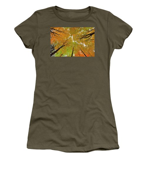 Women's T-Shirt (Junior Cut) featuring the photograph Cover Up by Tony Beck