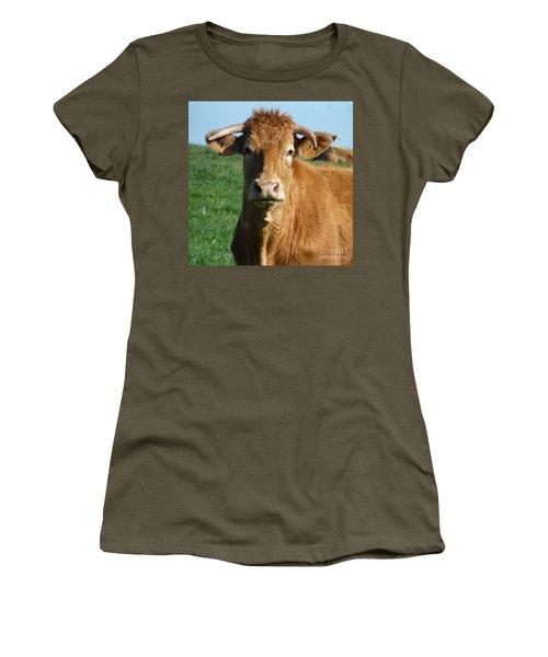 Cow Portrait Women's T-Shirt