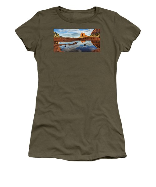 Cowpie 07-016p Women's T-Shirt (Junior Cut) by Scott McAllister